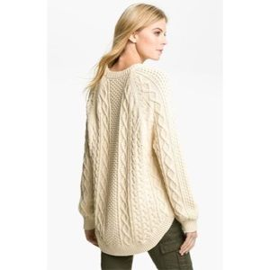 Michael Michael Kors Cable Knit Fisherman Sweater